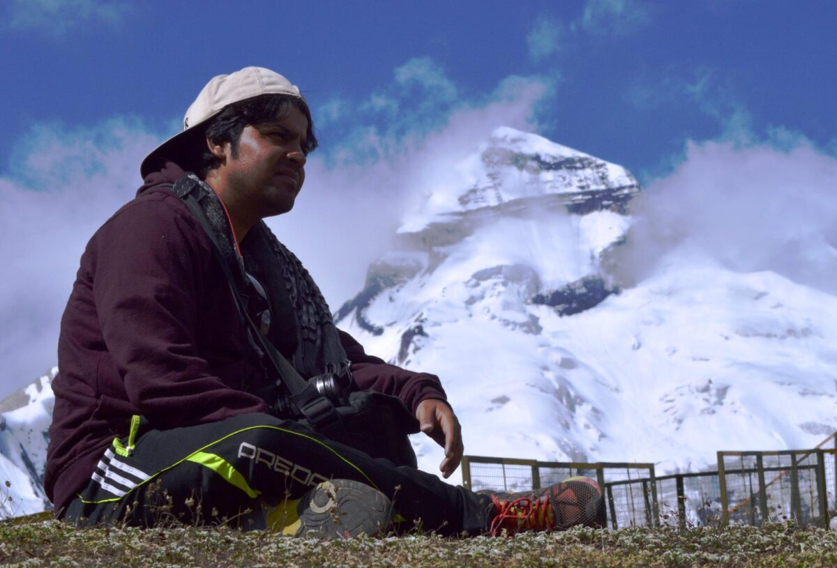 Aadi Kailas trek last point