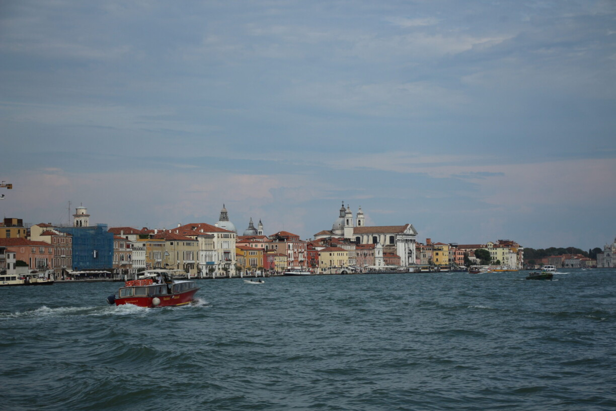 view of venice city river